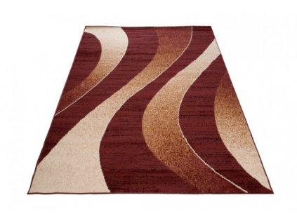 Moderní kusový koberec K857A CHEAP Hnědý