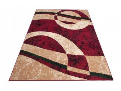 Kusový koberec CHEAP 4959A Červený