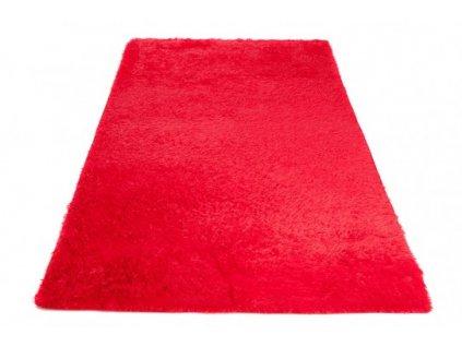 Moderní kusový koberec SILK červený