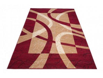 Kusový koberec CHEAP 3707A Červený