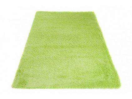 Moderní kusový koberec SILK zelený