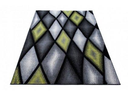Kusový koberec SUMATRA J373C šedý / černý