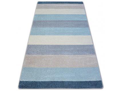 Kusový koberec NORDIC G4577 krémový modrý