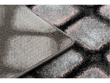 Kusový koberec INTERO REFLEX 3D šedý růžový