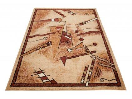 Kusový koberec ATLAS 7025B Světle béžový