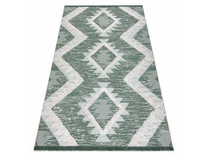 Kusový koberec Sisal MOROC 22312 zelený