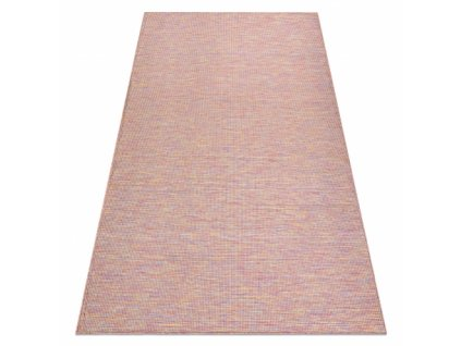 Kusový koberec Sisalový PATIO 2778 růžový / modrý / béžový