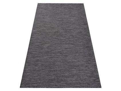 Kusový koberec Sisalový PATIO 2778 černý / béžový