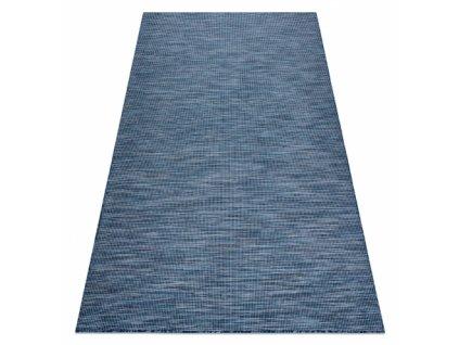 Kusový koberec Sisalový PATIO 2778 modrý