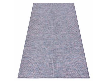 Kusový koberec Sisalový PATIO 2778 modrý / růžový / béžový