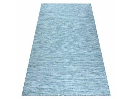 Kusový koberec Sisalový PATIO 2778 tyrkysový / modrý