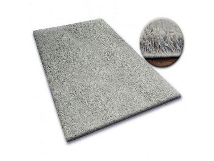 Koberec kusový SHAGGY 5cm šedý