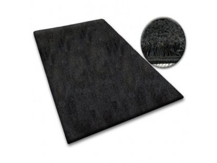 Koberec kusový SHAGGY 5cm černý