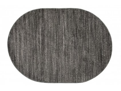 Oválný koberec SARI T006A černý