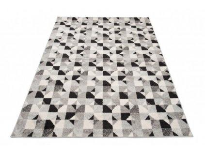 Kusový koberec LAZUR C942C šedý