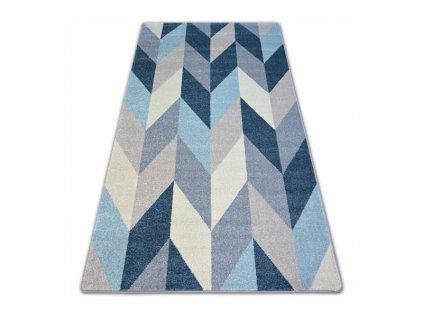 Kusový koberec NORDIC G4582 modrý