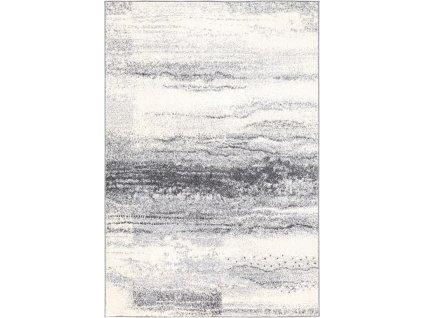 Moderní kusový koberec  Agnella Etna Side Šedý