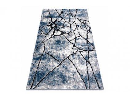 Moderní kusový koberec COZY 8873 Beton modrý