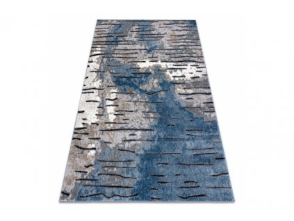 Moderní kusový koberec COZY 8876 šedý modrý