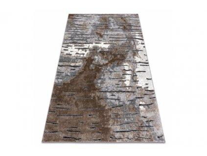 Moderní kusový koberec COZY 8876 hnědý