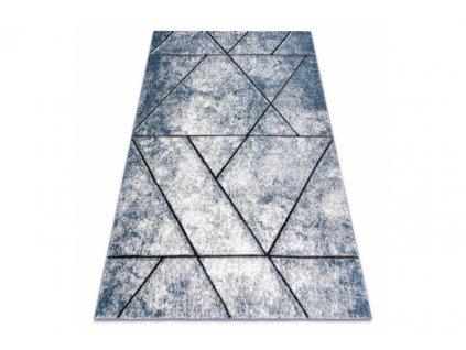 Moderní kusový koberec COZY 8872 Kámen modrý