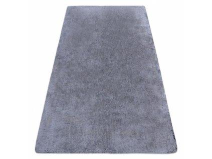 Kusový koberec Shaggy LAPIN černý / slonová kost