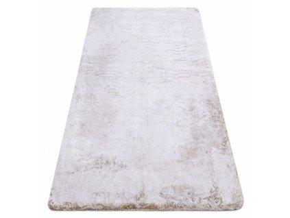 Kusový koberec Shaggy LAPIN béžový / slonová kost