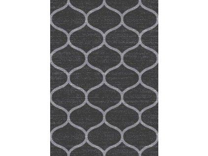 Kusový koberec JAWA E665A tmavě šedý