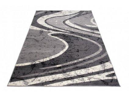 Kusový koberec 2640A  CHEAP Tmavě šedý