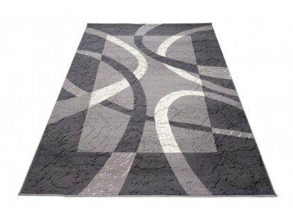 Kusový koberec 3707A CHEAP Tmavě šedý