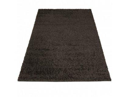 Kusový shaggy koberec jednobarevný SOHO P113A antracitový