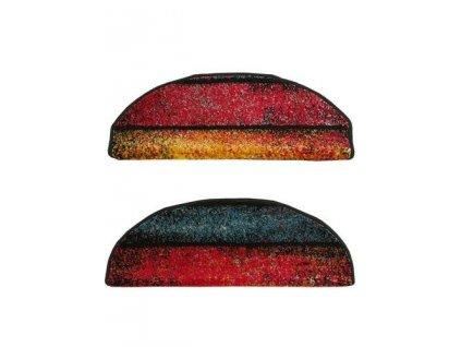 Kobercový nášlap půlkulatý Rainbow 11196/120  barevný