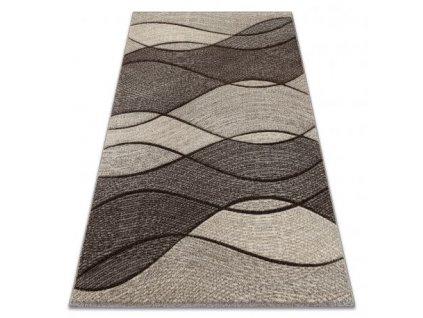 Kusový koberec FEEL 5675/15011 hnědý krémový