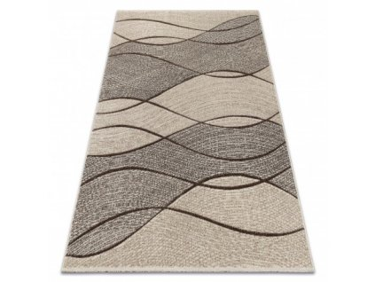 Kusový koberec FEEL 5675/15033 hnědý béžový