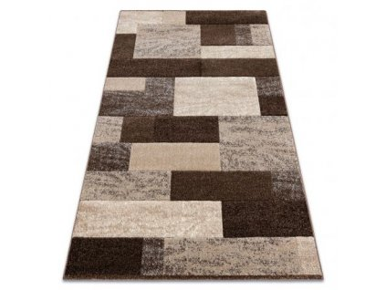 Kusový koberec FEEL 5756/15044 hnědý