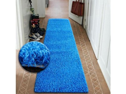 Běhoun SHAGGY 5cm modrý