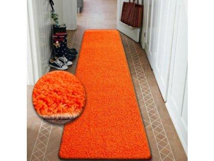 Běhoun SHAGGY 5cm pomerančový