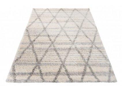 Kusový koberec Shaggy VERSAY Z520A krémový