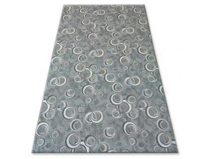 Kusový koberec DROPS 092 světle zelený
