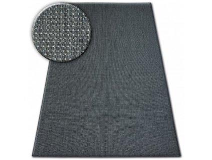 Koberec SISAL FLAT 48663/090 černý