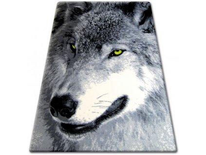 Kusový koberec BCF FLASH 33303/150 Vlk
