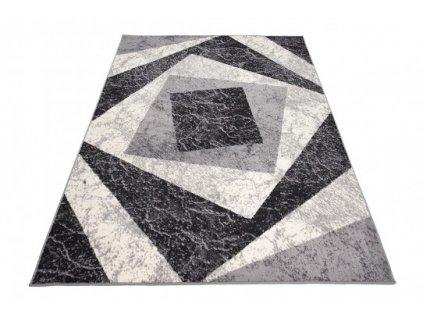 Moderní kusový koberec K855A CHEAP Šedý
