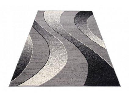 Moderní kusový koberec K857A CHEAP Šedý