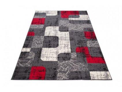 Kusový koberec D322A CHEAP Tmavě šedý