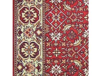 Běhoun BIDJAR pogumovaný červený