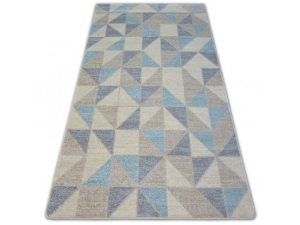 Kusový koberec NORDIC SCANDINAVIA G4586 modrý