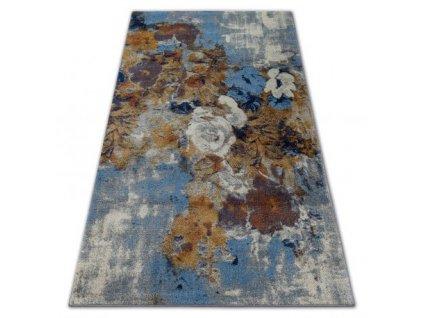 Kusový koberec SOFT 6312 Květy vícebarevný