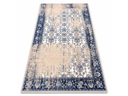 Vlněný koberec KERMAN TABRIA pískový