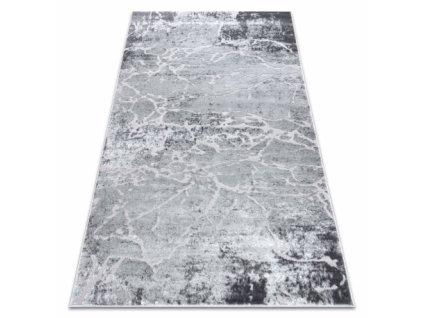Moderní kusový koberec MEFE 6182 Beton šedý