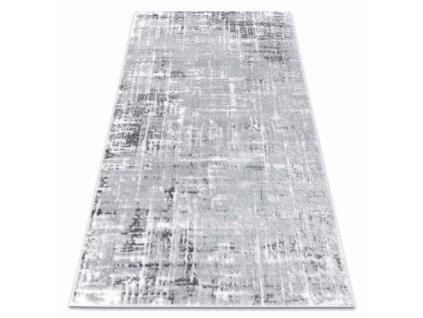Moderní kusový koberec MEFE 8722 šedý / bílý